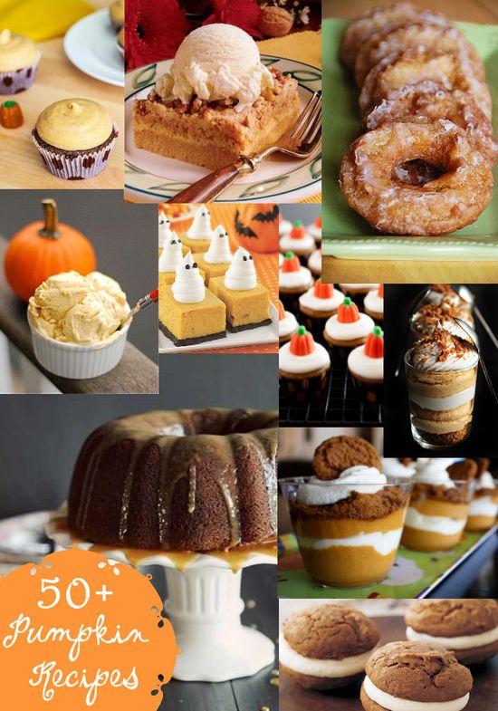 50+ Pumpkin Recipes