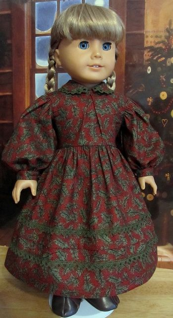 Christmas dress for Kirsten by Keepersdollyduds, via Flickr