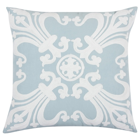 Vesta Blue Throw Pillow from @Layla Grayce #laylagrayce #new #pillows