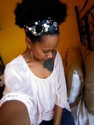 Lovin this hair accessory