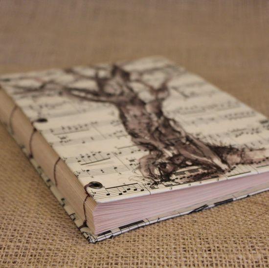 Love this handmade music journal