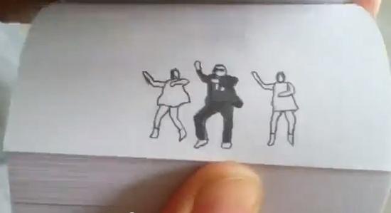 Gangnam Style flipbook  :-)))))