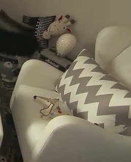 Love the pillow and chair