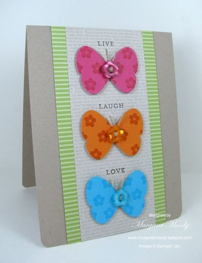 Stampin Up butterfly card
