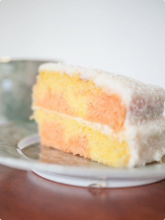 vintage almond blossom cake recipe