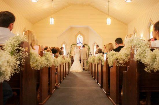 Southern Church Wedding