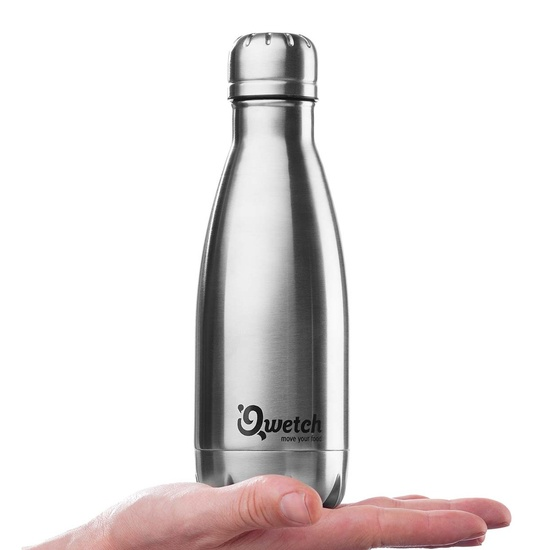 Stainless steel bottle (vacuum-sealed, double-walled)