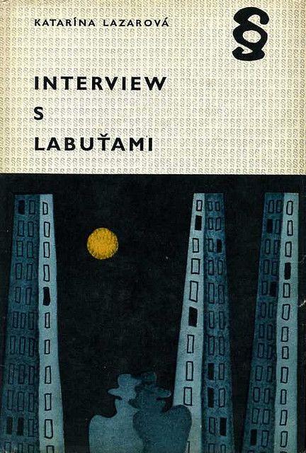 Slovak book cover, Katarina Lazarova - Interview s Labutami