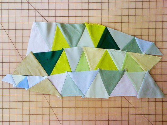 improv triangles.