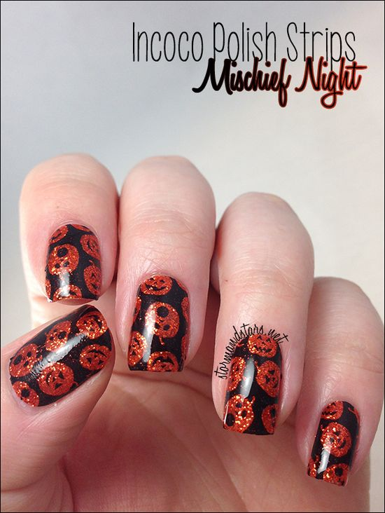 Stormandstars.net  Halloween #nail #nails #nailart