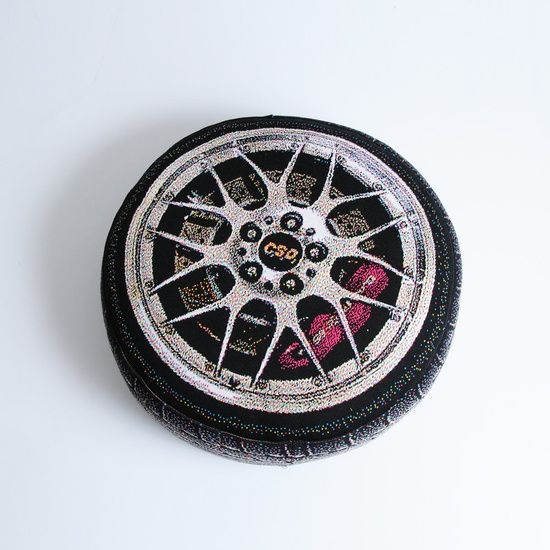 Luxury Sport Car Wheel............... Pillow. $83.00,