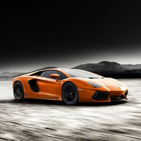 Orange beauty - Lamborghini Aventador