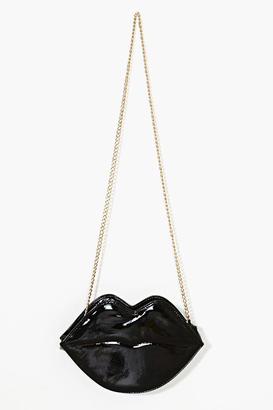 Flaming Lips Bag in Black