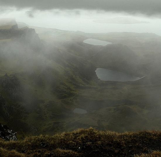 Quiraing, the table, Isle of Skye, Scotland
