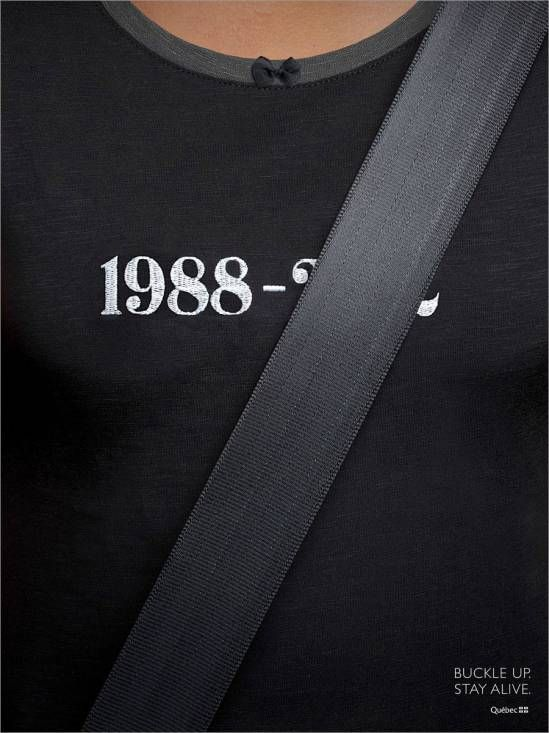Very clever car insurance ad.