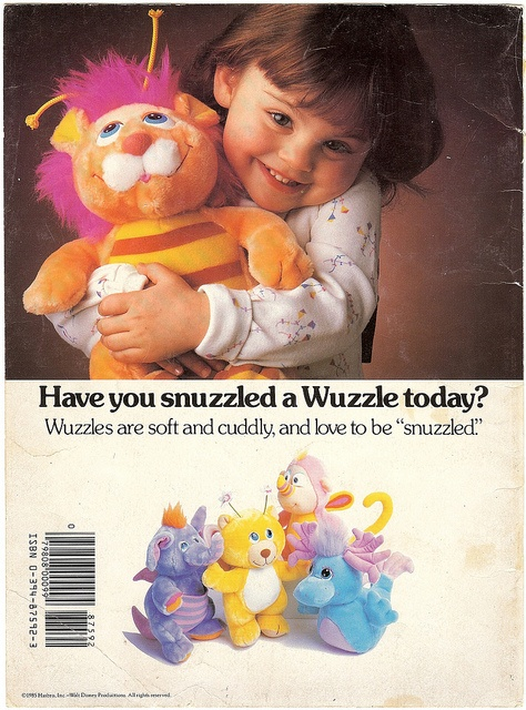 Wuzzles!  I loved these.