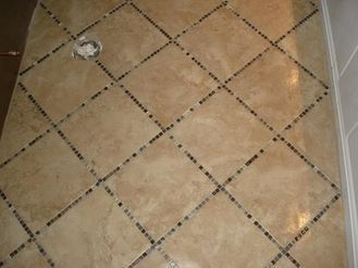 Clean Bathroom Porcelain Tile Floors Interior #modern floor design #floor interior #floor decorating before and after