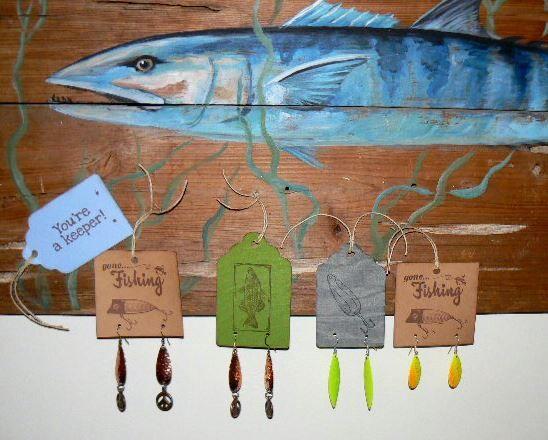Funky Fish Fishing Lure Jewelry TheFunkyFysh.etsy...