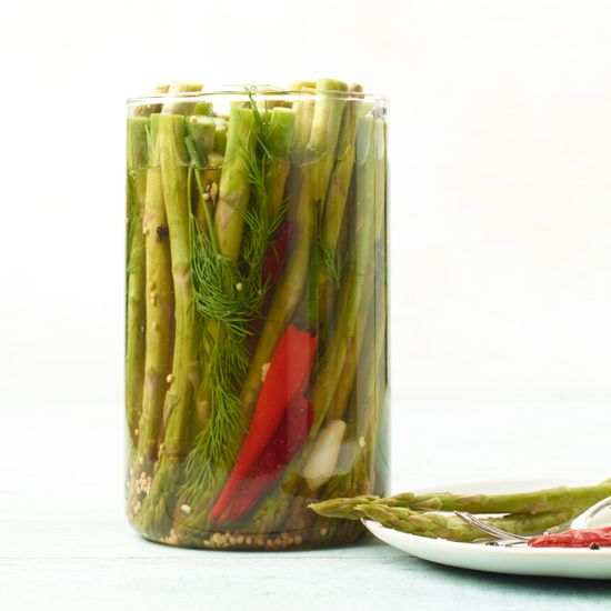 Easy way to add spicy-tangy kick to sandwiches + meats // More Pickled Vegetable Recipes: www.foodandwine.c... #foodandwine