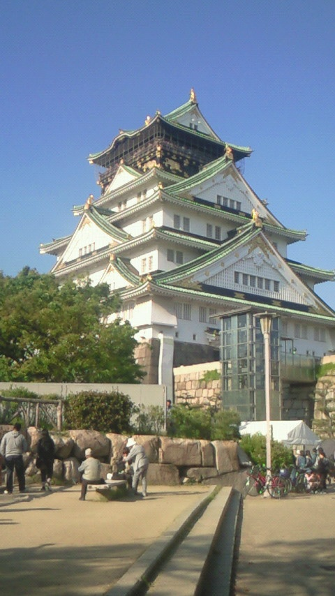 Osaka Castle in Japan. OH MY GOSH I'VE BEEN HERE!! #memories