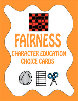 Fairness Choice Cards - Character Education and Social