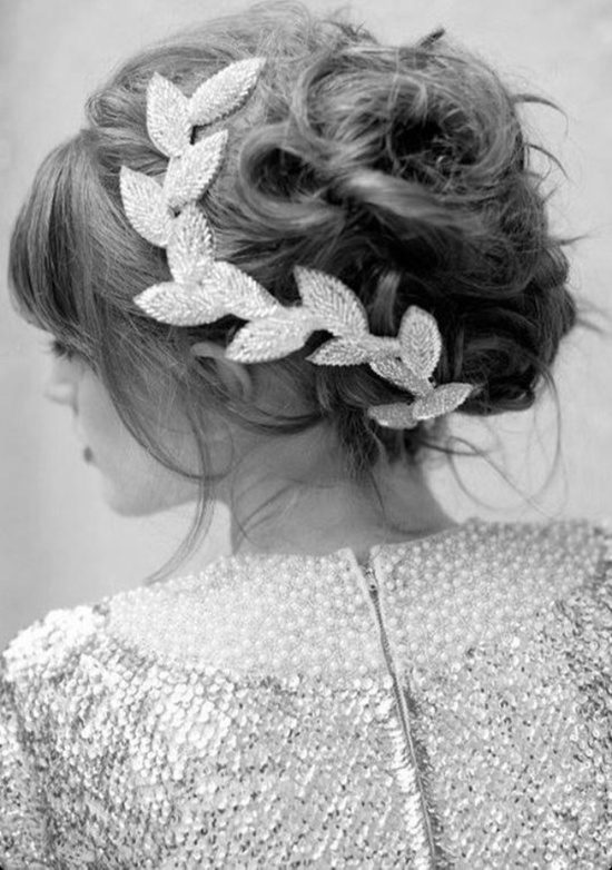 Beautiful Updo and Hair Accessory