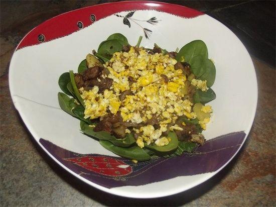 Breakfast Salad  Blissful Health - Breakfast