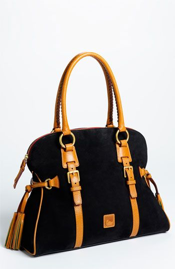 Dooney & Bourke 'Domed Buckle' Satchel.   I regret not buying this bag for a great price at the Nordstrom Anniversary sale:(