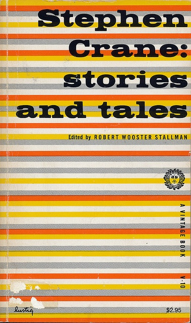Stephen Crane: Stories and Tales cover by Alvin Lustig by Scott Lindberg, via Flickr