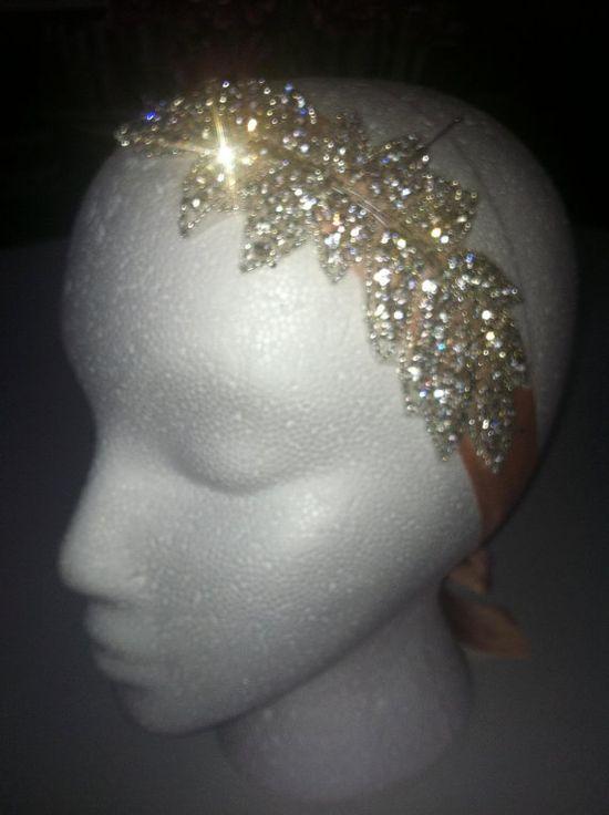 Great Gatsby CRYSTAL Encrusted Headband, $68.00