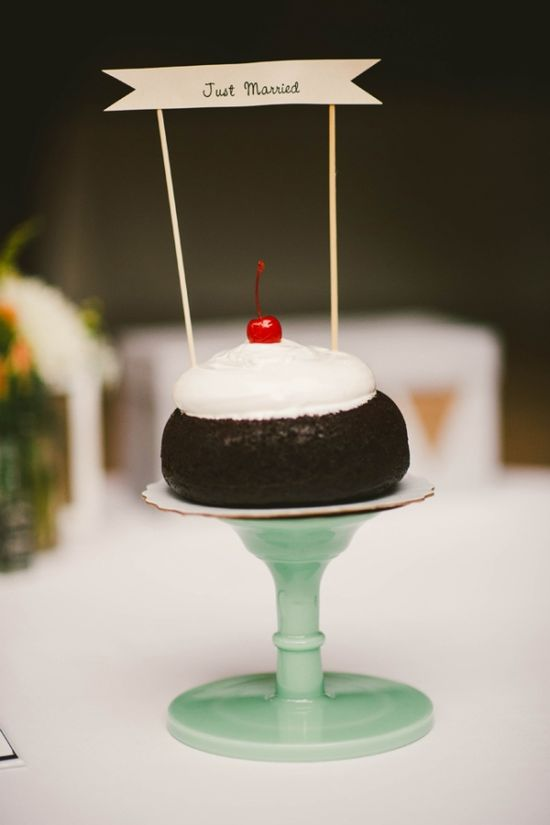 cake by Miette // photo by Emily Blake    this little cartoonish cake KILLS me with cuteness! really lovely and simple!