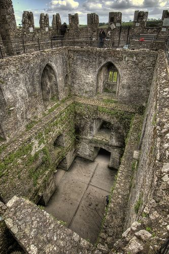 Blarney Castle, Ireland.  Kiss the Blarney Stone.