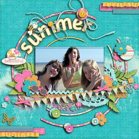 summer - Scrapbook.com