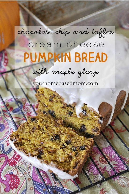 pumpkin bread by your home based mom #recipes #bread #pumpkin