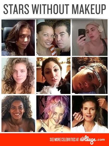 No Makeup, No Problem! Stars Showing Off Their Bare Faces. #makeup #beauty #celebrities  www.ivillage.com/...