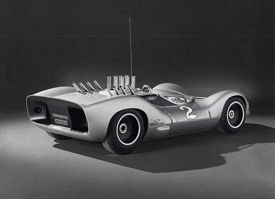 Corvette GSII    designed by Larry Shinoda, 1963