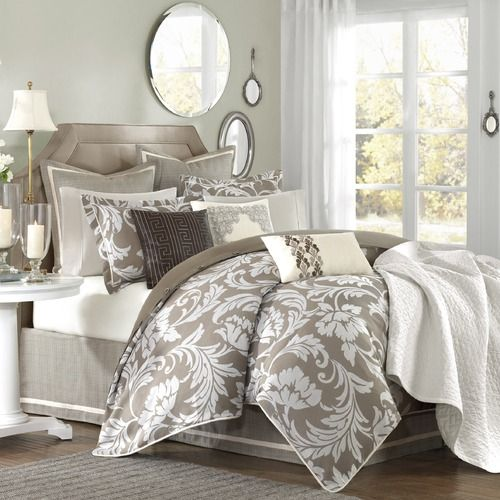 master bedroom bedding, but I just like the print./