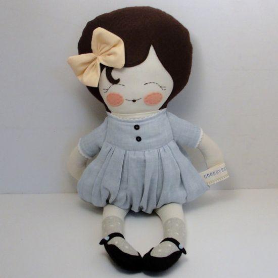 Cute handmade dolls.