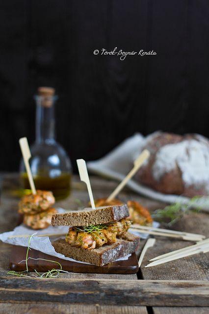 Salmon burger by bognarreni, via Flickr
