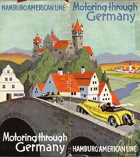 Illustration - Germany travel poster