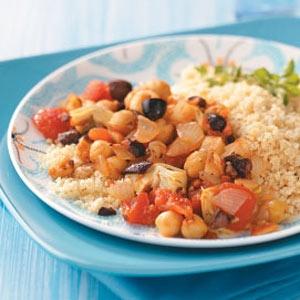 Mediterranean Chickpeas Recipe