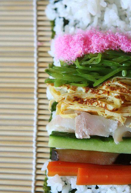 Ehou-maki sushi