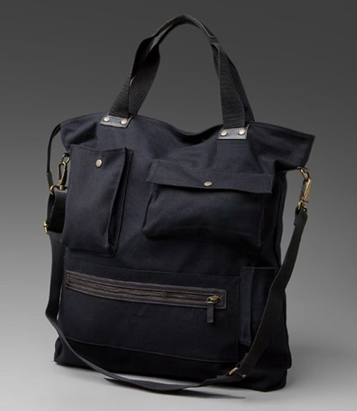 multi pocket urban tote