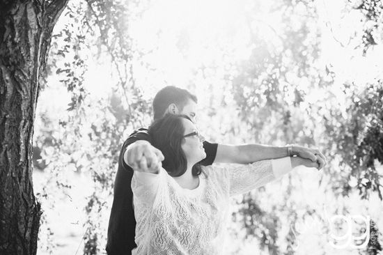 engagement session in west seattle by jenny gg