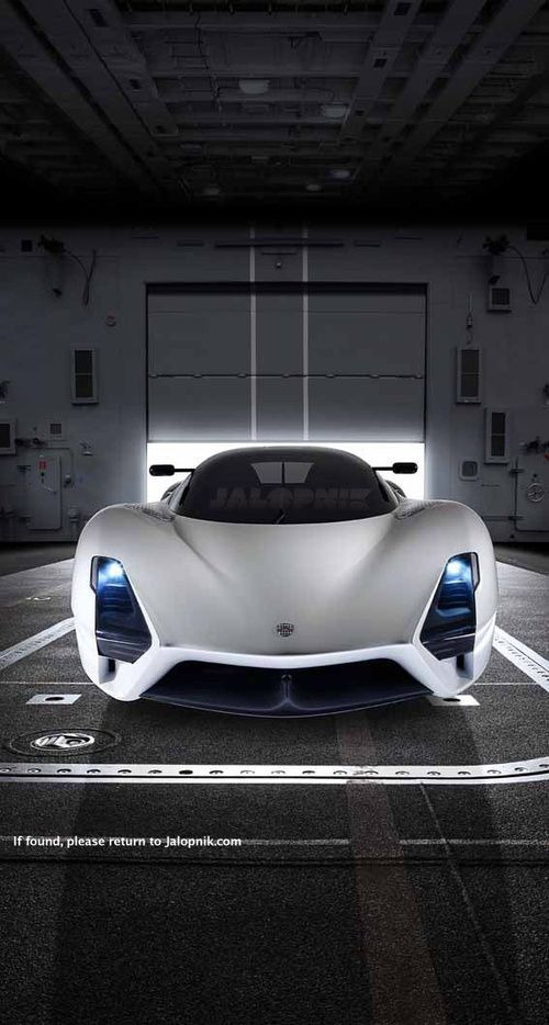 The SSC Ultimate Aero II, the second generation of America's fastest supercar, looks like a space pod that combines Ferrari angles with Wall-E's Eve curves. It could also be the fastest production car in the world if it reaches 270MPH