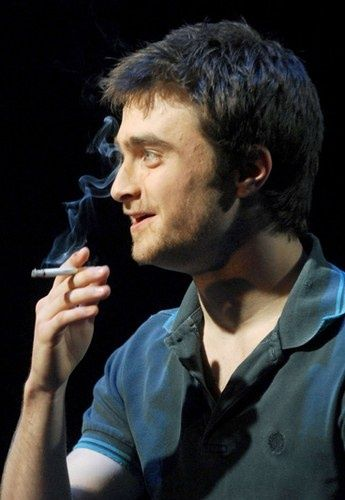 Daniel Radcliffe. The things I'd do to become that