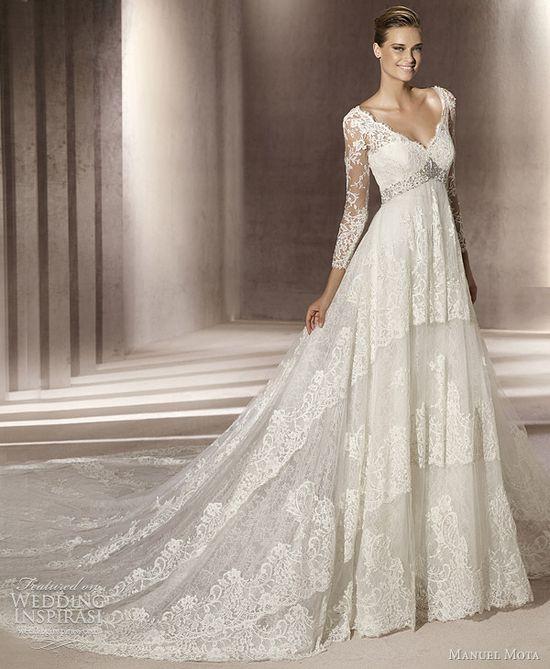 Manuel Mota Wedding Dresses 2012