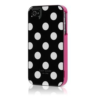 Adorable Kate Spade iPhone 4 case.