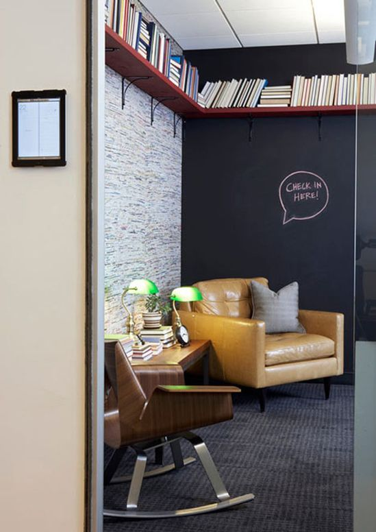 Home/Office: Workplace Decor that Looks Like Home - Foursquare Office New York