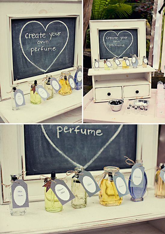 very cute idea of wedding shower or baby shower or even bachelorette party